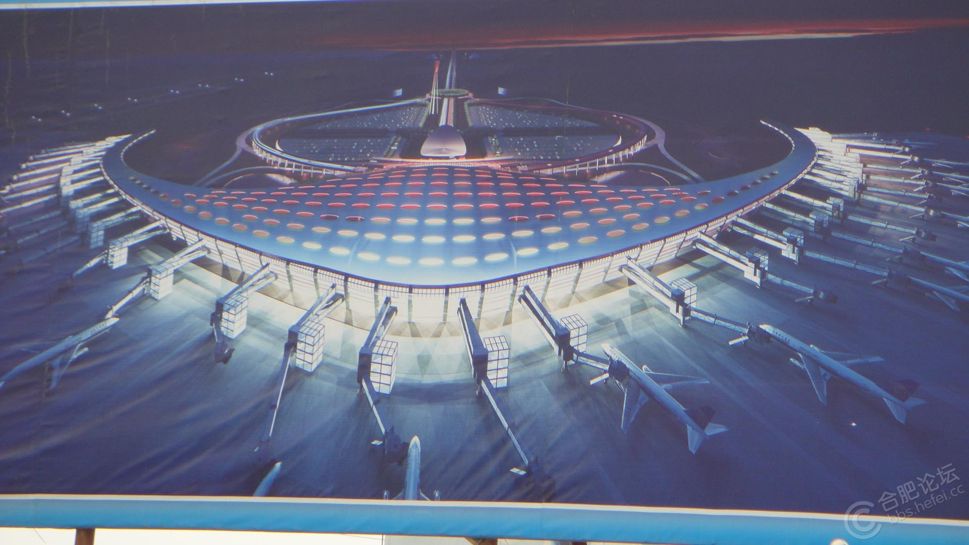 合肥新桥机场最新进度高清图,内部图最新上了vip效果图 安徽